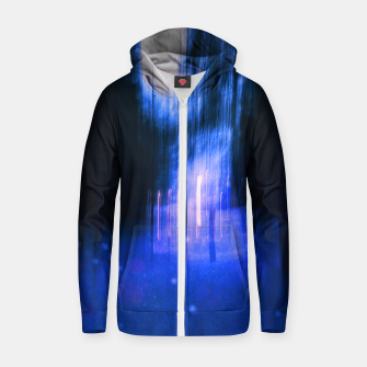 Thumbnail image of Two worlds Zip up hoodie, Live Heroes