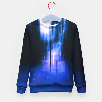 Thumbnail image of Two worlds Kid's sweater, Live Heroes