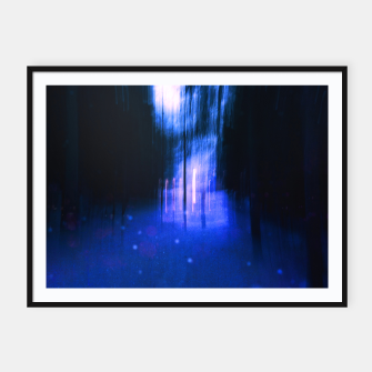 Thumbnail image of Two worlds Framed poster, Live Heroes