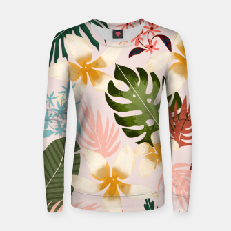 Thumbnail image of Tropical Soul Women sweater, Live Heroes
