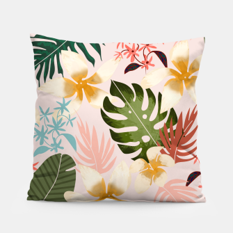 Thumbnail image of Tropical Soul Pillow, Live Heroes