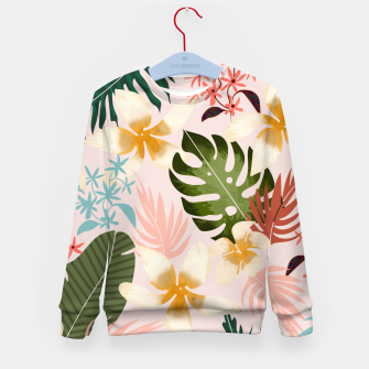 Thumbnail image of Tropical Soul Kid's sweater, Live Heroes