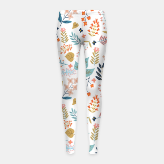 Botanical Harmony Girl's leggings Bild der Miniatur