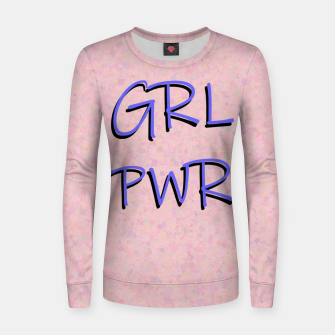 Thumbnail image of GRL PWR Women sweater, Live Heroes