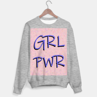 Miniaturka GRL PWR Sweater regular, Live Heroes