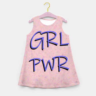 Miniaturka GRL PWR Girl's summer dress, Live Heroes