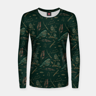 Thumbnail image of Conversation Women sweater, Live Heroes