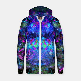 Jester Juggling Android Orbs Zip up hoodie thumbnail image