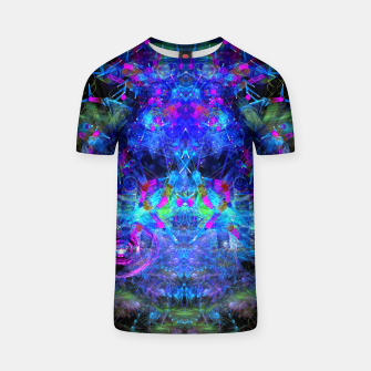 Jester Juggling Android Orbs T-shirt thumbnail image