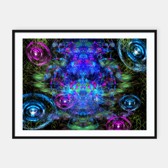 Jester Juggling Android Orbs Framed poster thumbnail image