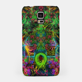 Miniatur Festive Salutations From Andromeda (visionary, psychedelic, psyart) Samsung Case, Live Heroes