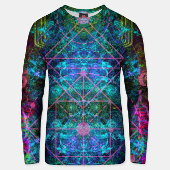 Thumbnail image of Mystical Release (abstract, visionary, psychedelic, fractal) Unisex sweater, Live Heroes