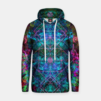 Thumbnail image of Mystical Release (abstract, visionary, psychedelic, fractal) Hoodie, Live Heroes