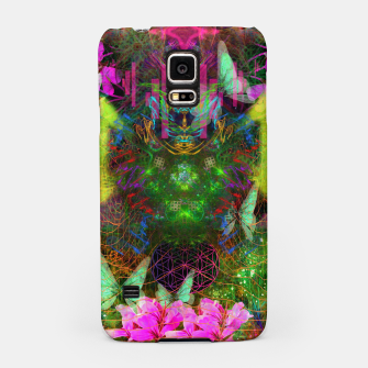 Thumbnail image of Renewed Life (geranium flowers, pink, visionary) Samsung Case, Live Heroes