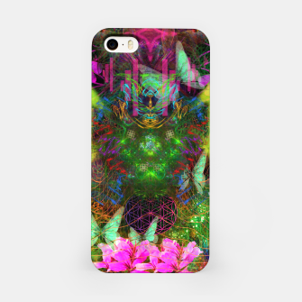 Thumbnail image of Renewed Life (geranium flowers, pink, visionary) iPhone Case, Live Heroes