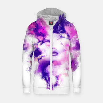 Thumbnail image of Beauty of Color Zip up hoodie, Live Heroes