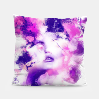 Thumbnail image of Beauty of Color Pillow, Live Heroes