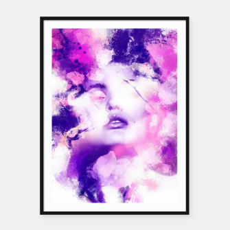 Thumbnail image of Beauty of Color Framed poster, Live Heroes