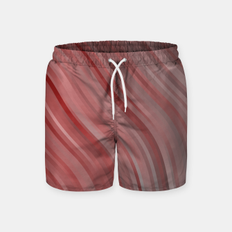 Thumbnail image of stripes wave pattern 1 2spi Swim Shorts, Live Heroes