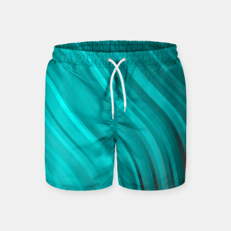 Thumbnail image of stripes wave pattern 1 2sv Swim Shorts, Live Heroes