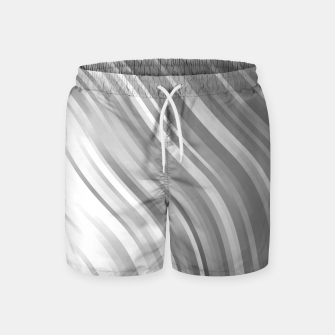 Thumbnail image of stripes wave pattern 1 bwip Swim Shorts, Live Heroes