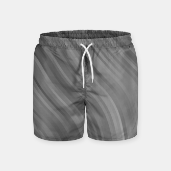 Thumbnail image of stripes wave pattern 1 bwrfp Swim Shorts, Live Heroes