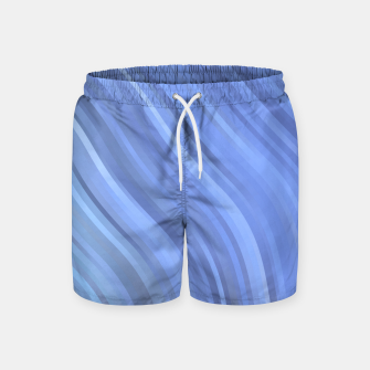 Thumbnail image of stripes wave pattern 1 c80p Swim Shorts, Live Heroes