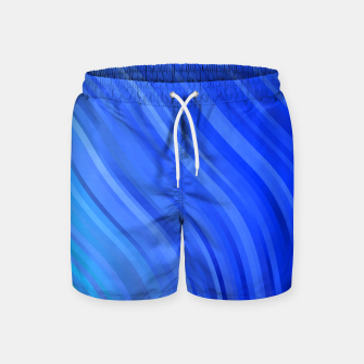 Thumbnail image of stripes wave pattern 1 c80v Swim Shorts, Live Heroes