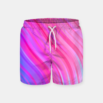 Thumbnail image of stripes wave pattern 1 c80vi Swim Shorts, Live Heroes