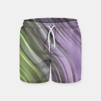 Thumbnail image of stripes wave pattern 1 clp Swim Shorts, Live Heroes