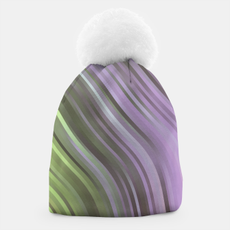 stripes wave pattern 1 clp Beanie miniature