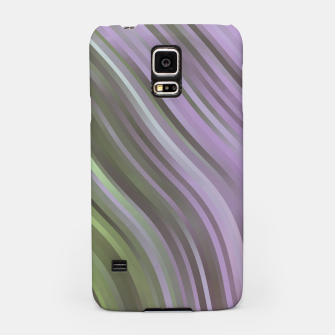 stripes wave pattern 1 clp Samsung Case miniature