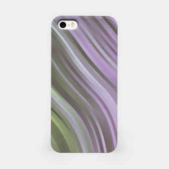 stripes wave pattern 1 clp iPhone Case miniature