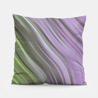 stripes wave pattern 1 clp Pillow miniature