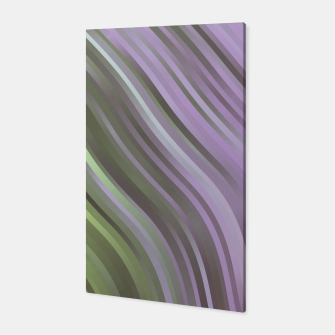 stripes wave pattern 1 clp Canvas miniature