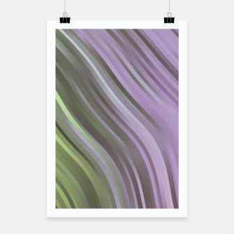 stripes wave pattern 1 clp Poster miniature