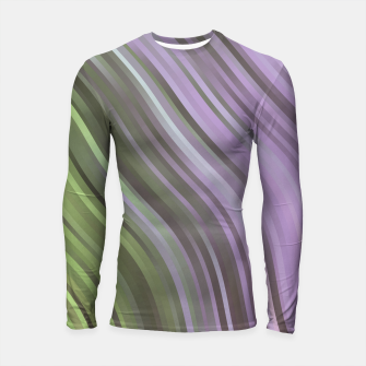stripes wave pattern 1 clp Longsleeve rashguard  miniature