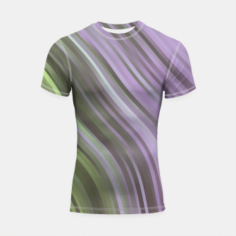 stripes wave pattern 1 clp Shortsleeve rashguard miniature