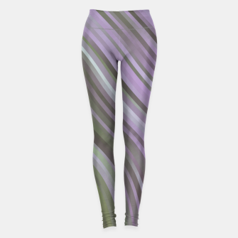 stripes wave pattern 1 clp Leggings miniature