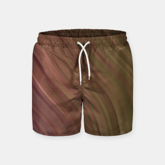 Thumbnail image of stripes wave pattern 1 clpi Swim Shorts, Live Heroes