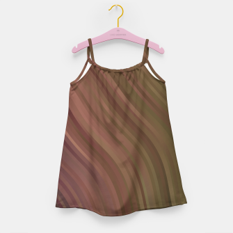 Thumbnail image of stripes wave pattern 1 clpi Girl's dress, Live Heroes