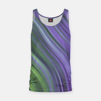 Thumbnail image of stripes wave pattern 1 clv Tank Top, Live Heroes