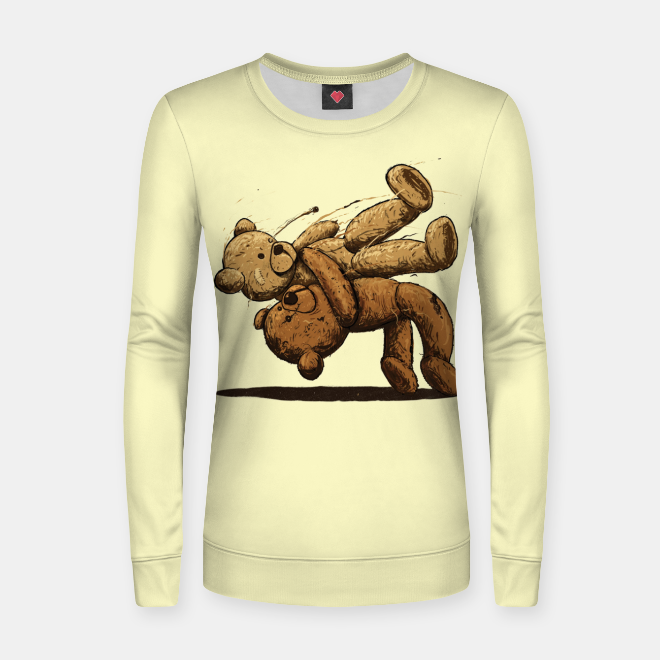 Image of Bear Hug Women sweater - Live Heroes