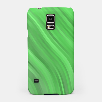 stripes wave pattern 1 dep Samsung Case miniature