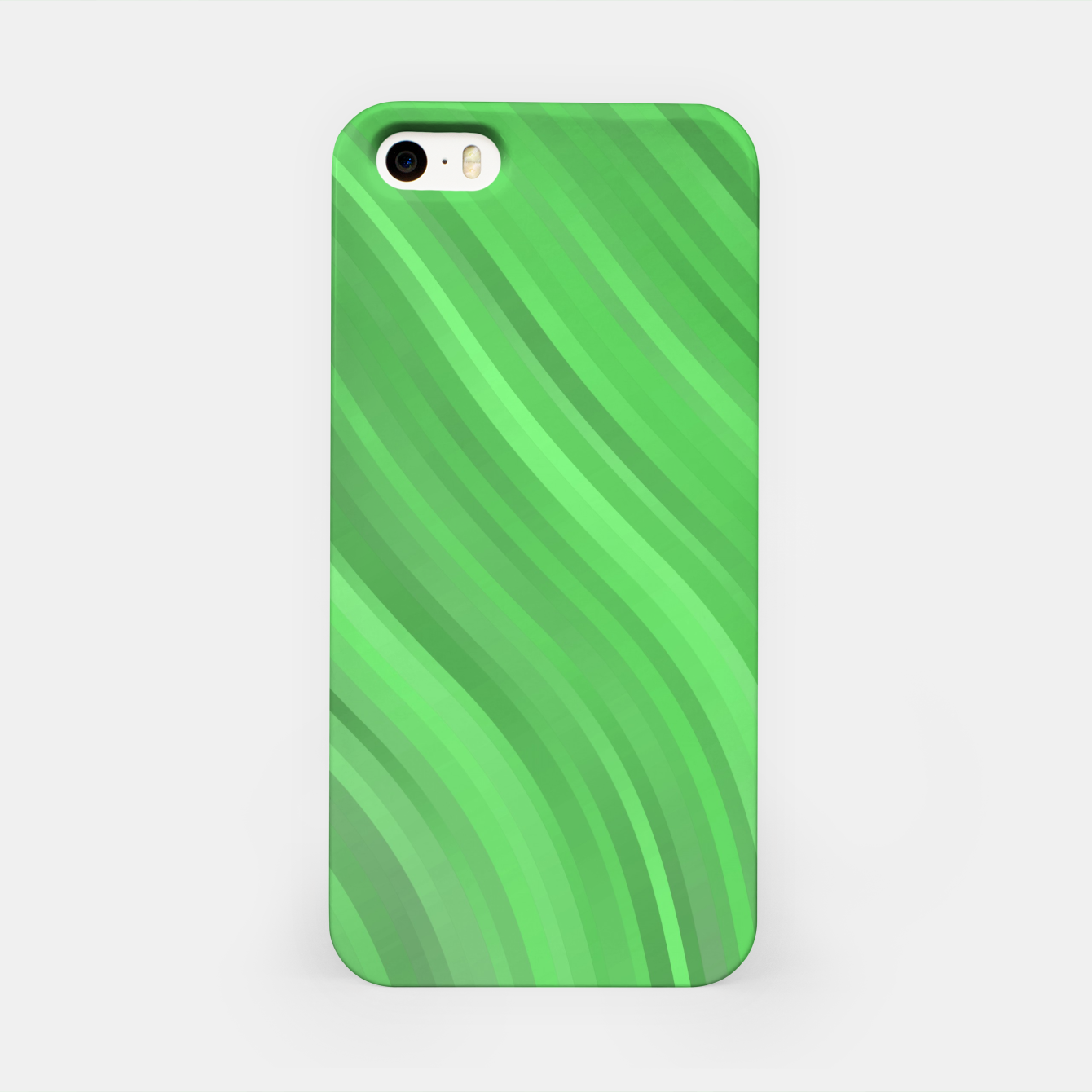 Image de stripes wave pattern 1 dep iPhone Case - Live Heroes