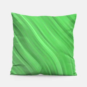 stripes wave pattern 1 dep Pillow miniature