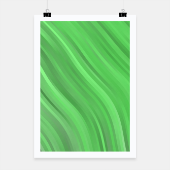 stripes wave pattern 1 dep Poster miniature