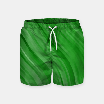 Thumbnail image of stripes wave pattern 1 depi Swim Shorts, Live Heroes
