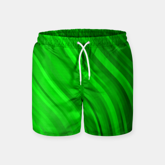 Thumbnail image of stripes wave pattern 1 dev Swim Shorts, Live Heroes