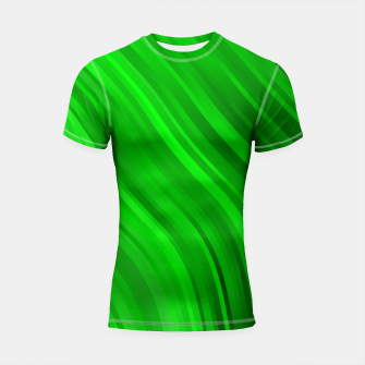 Miniature de image de stripes wave pattern 1 dev Shortsleeve rashguard, Live Heroes